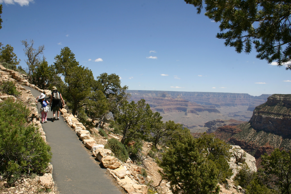 6 Easy Hiking Trails At The Grand Canyon In Arizona