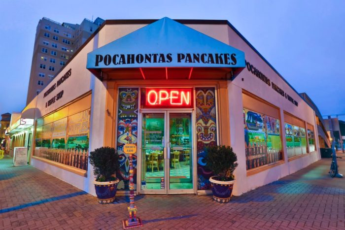 pocahontas pancake and waffle shop is the best themed