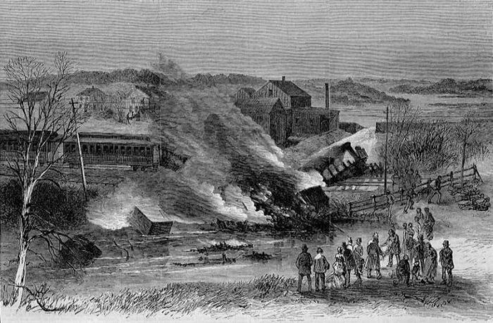 The Hartford Railroad Disaster In Vt Was The Most Deadly