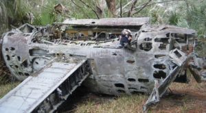 Few People Know About This Crashed Bomber Plane Hiding Deep In The South Carolina Woods
