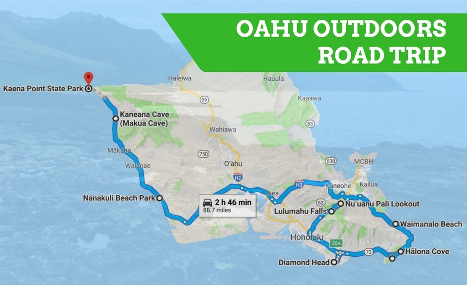 Experience Oahu S Great Outdoors On This Epic Road Trip