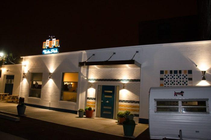 The Trailer Park Themed Restaurant In Providence Rhode