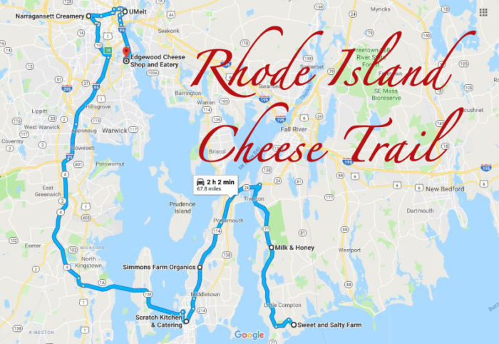 This Rhode Island Cheese Trail Makes For The Most Delicious Day Trip