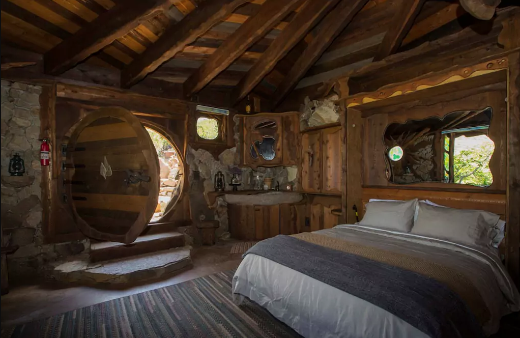 stay the night in a secluded hobbit house in southern. Black Bedroom Furniture Sets. Home Design Ideas
