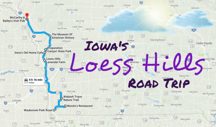 See Iowau0026#39;s Loess Hills In One Day On This Epic Road Trip