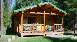 This Log Cabin Campground In Montana May Just Be Your New Favorite Destination