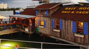 There's A Waterfront Restaurant Hiding Inside This Old Florida Tackle Shop And You'll Want To Visit