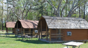 This Log Cabin Campground In Virginia May Just Be Your New Favorite Destination