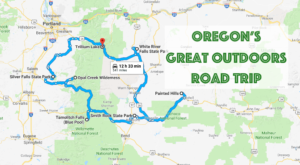 Take This Epic Road Trip To Experience Oregon's Great Outdoors