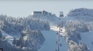 This Gondola Ride In Vermont Takes You Straight To A Mountain Restaurant With An Amazing View