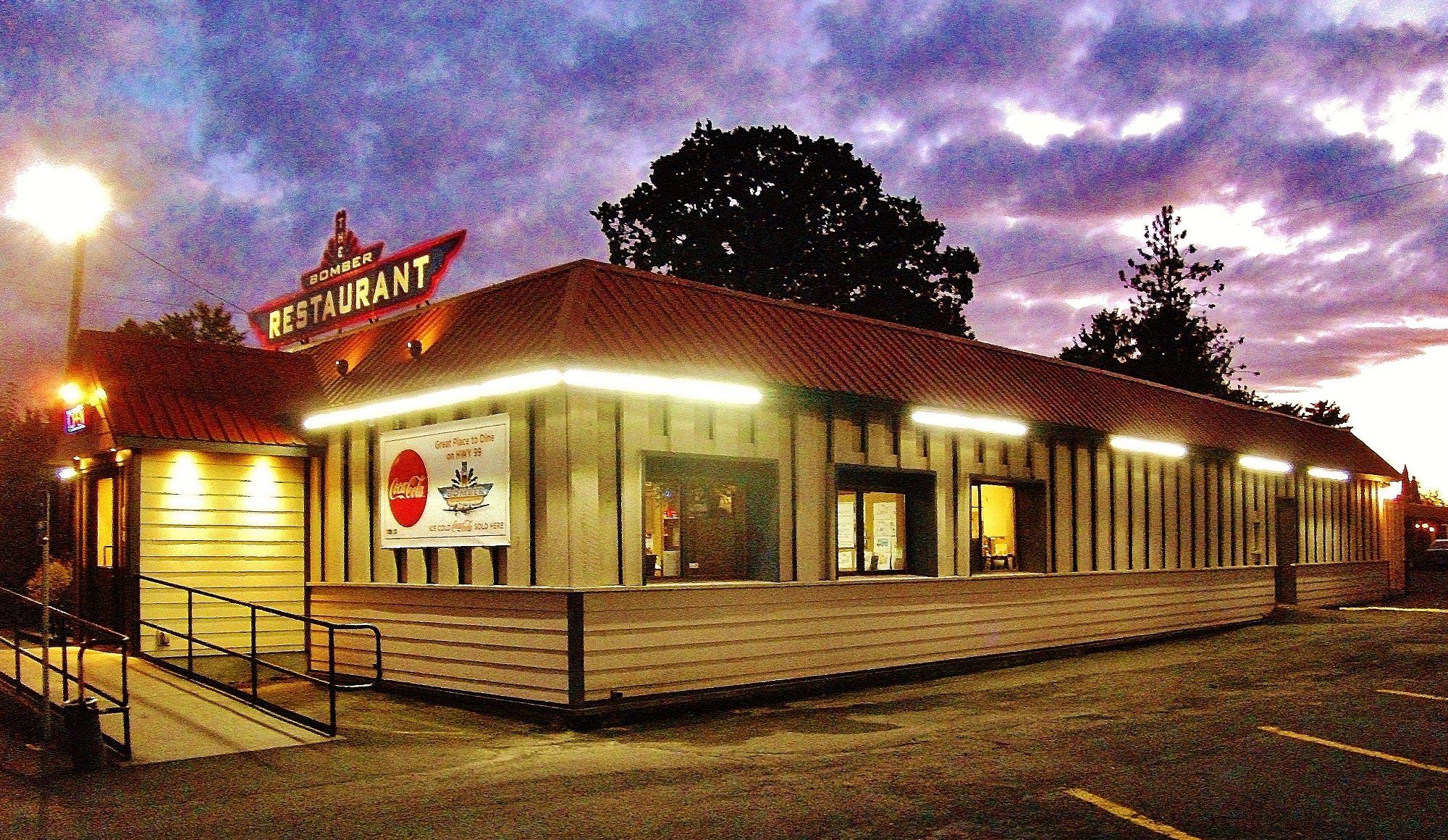 The Bomber Restaurant Menu