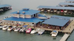 This Floating Restaurant Has Some Of The Most Enchanting Waterfront Views In Texas