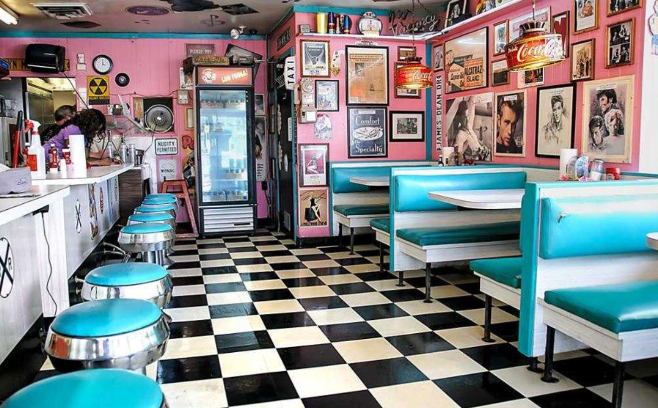 Rock-Cola '50s Diner Is One Of The Best Nostalgic ...  Rock-Cola '...