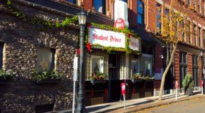 This German Restaurant In Massachusetts Serves The Best Pretzels In America