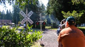 There's A Little-Known, Fascinating Train Park In Oregon And You'll Want To Visit