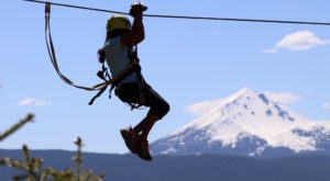 This Once-In-A-Lifetime Oregon Zipline Adventure Near Crater Lake Is Downright Thrilling