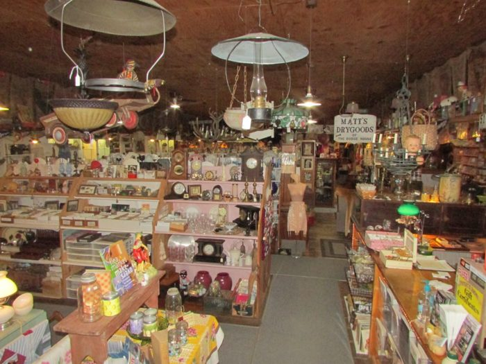 Potato Barn Antiques In Northumberland New Hampshire Is A