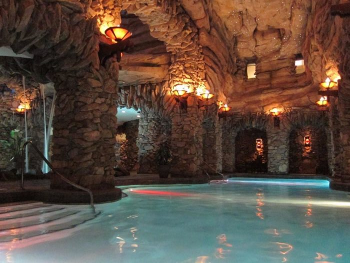 The Underground Grotto Found At The Omni Grove Park Inn In