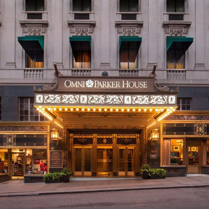 The Omni Park House Hotel In Boston Is One Of Most Haunted Spots America
