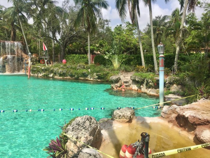 The venetian pool in florida is the largest freshwater swimming pool in the world for What is a freshwater swimming pool