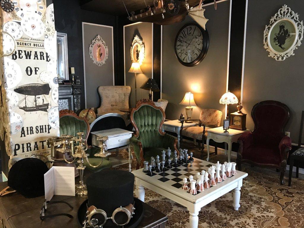 Steampunk Tea Room Portland Or