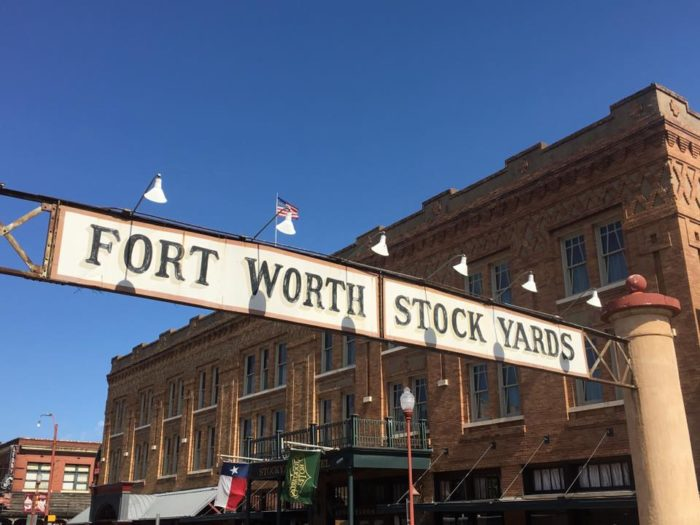 This Iconic Hotel Is Located In The Heart Of Fort Worth Stockyards And Walking Distance From Countless Saloons Antique S Western Wear