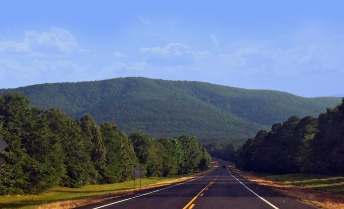 Talimena National Scenic Byway In Oklahoma A Road