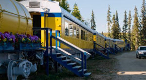 This Train Hotel In Alaska Is What Dreams Are Made Of