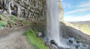 Walk Behind A Waterfall For A One-Of-A-Kind Experience In Idaho