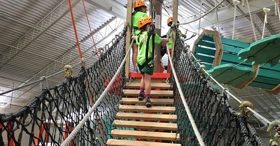 Kinetic Heights Is An Indoor Adventure Park You Ll Only