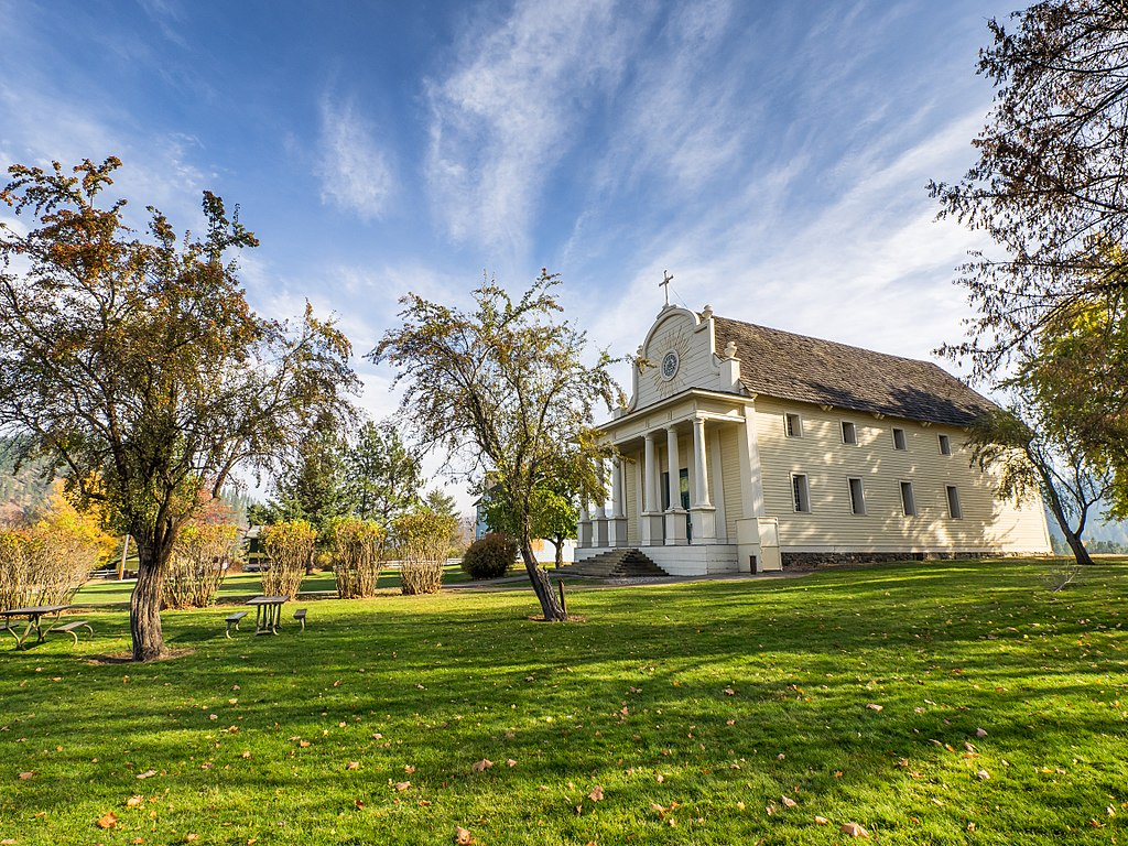 The Oldest Place In Idaho Is Old Mission State Park