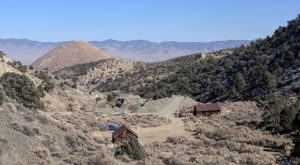 Most People Have Long Forgotten About This Vacant Ghost Town In Rural Nevada