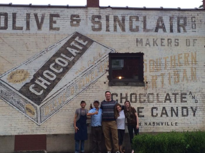 Chocolate Tour East Nashville Tn