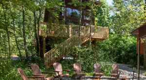 This Treehouse Resort In North Carolina May Just Be Your New Favorite Destination