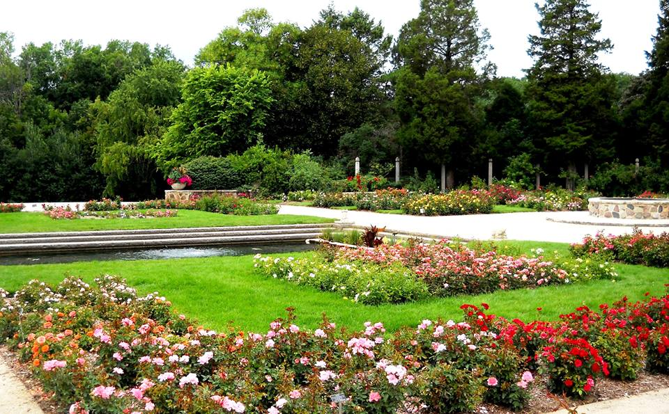 Boerner Botanical Gardens Houses Milwaukee 39 S Most Beautiful Rose Garden