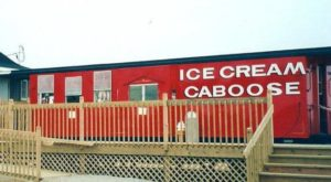 The Delightful Ice Cream Shop In Michigan That's Tucked Away In A Train Car