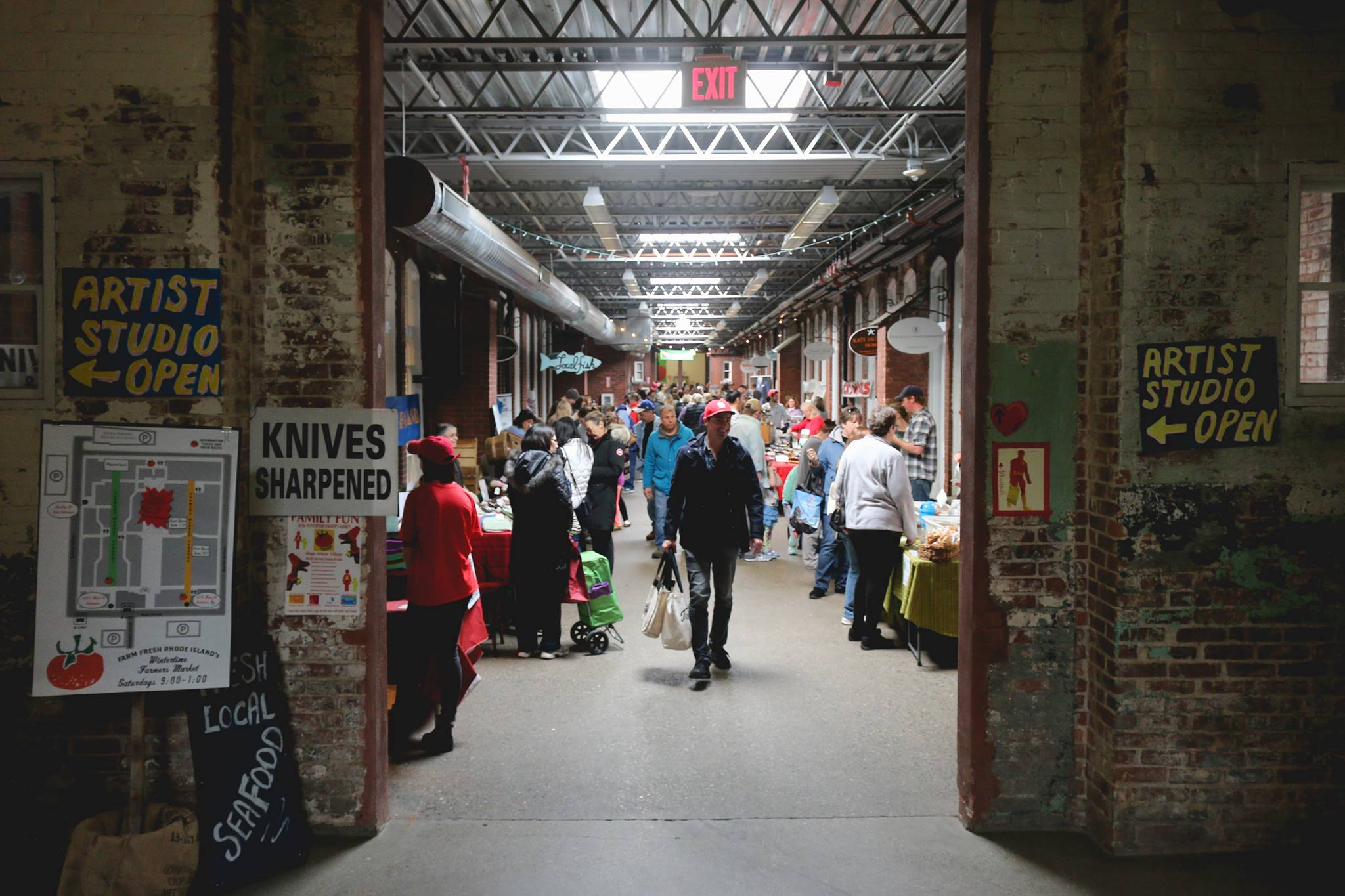 This Indoor Farmers Market In Rhode Island Will Make Your