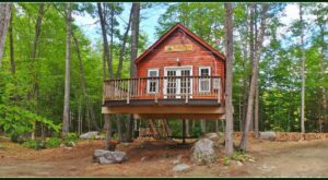 This Treehouse Resort In Maine May Just Be Your New Favorite Destination