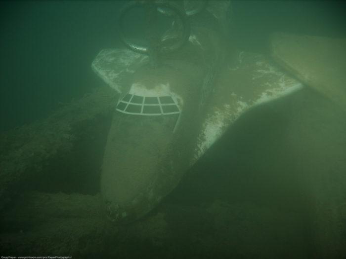 Scuba organization sinks plane in France Park lake | Local ...  |Scuba South France