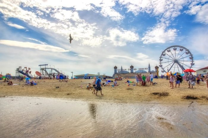 Old Orchard Beach Amut Park The Best Beaches In World