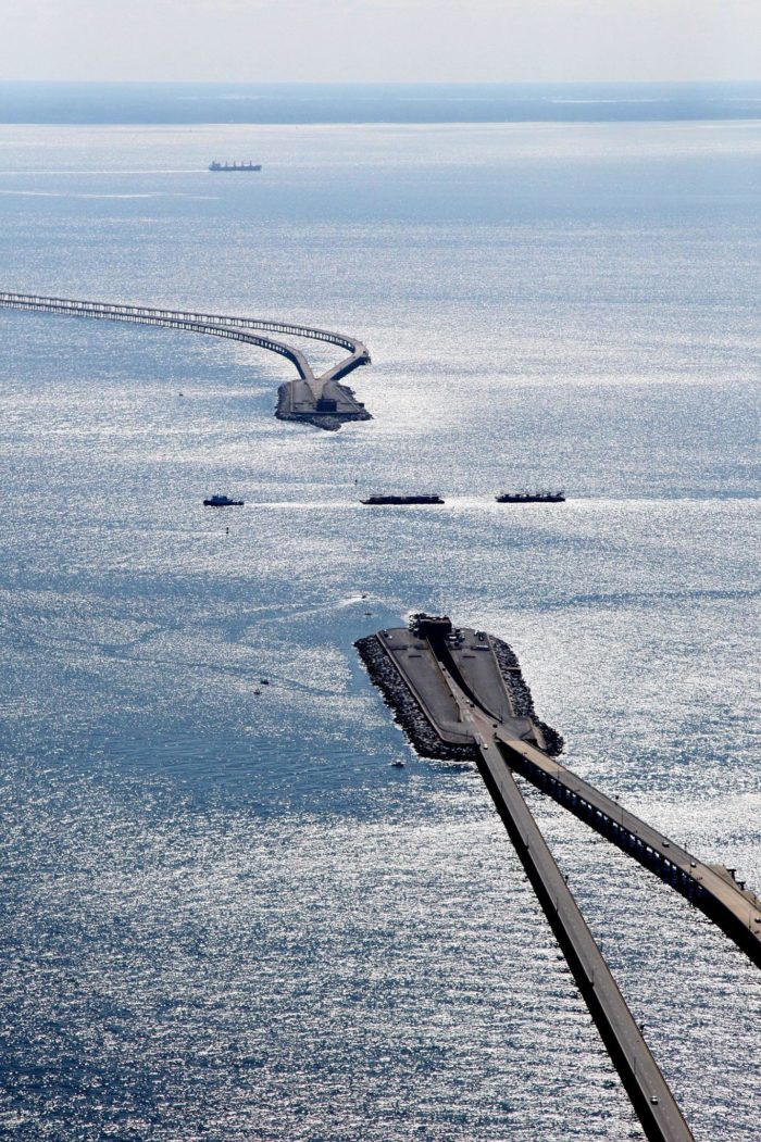 virginia s chesapeake bay bridge tunnel is a fascinating underwater