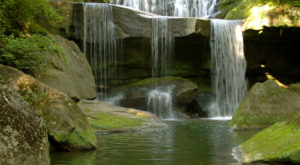 Walk Behind A Waterfall For A One-Of-A-Kind Experience Near Cleveland