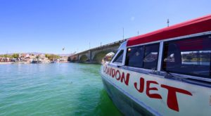 The Jet Boat Tour In Nevada With Mesmerizing Views You'll Never Forget