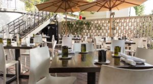 You'll Love Lounging On This Charming Restaurant Patio In Austin