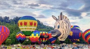 Spend The Day At This Impressive Hot Air Balloon Festival In Georgia For A Uniquely Colorful Experience