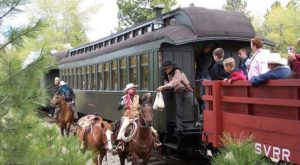 Experience The Thrill Of A Wild West Robbery Aboard This One-Of-A-Kind Oregon Train Ride