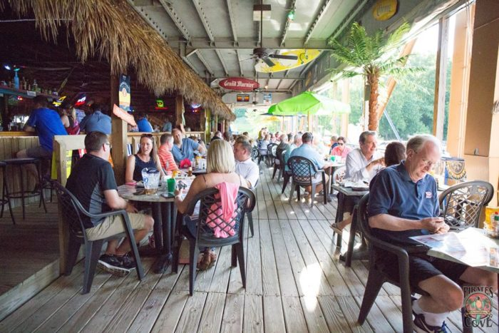 Pirates Cove In Cincinnati Is A Uniquely Themed Restaurant On The Water