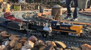 North Carolina's Largest Garden Railroad Is Truly Magical And You'll Want To Visit
