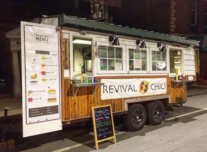 Blue Sparrow Food Truck