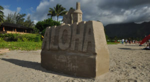 You Won't Want To Miss This Epic Sandcastle Festival On The Hawaii Coast
